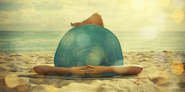 banho de sol